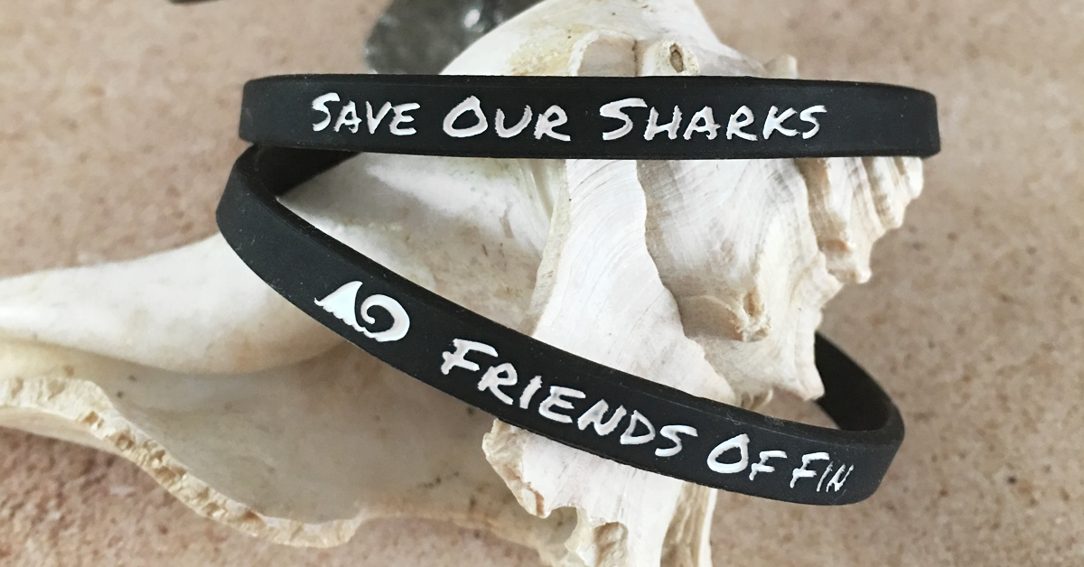 Save Our Sharks Wristbands by Friends of Fin